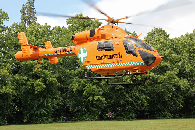 Essex & Herts Air Ambulance G-HMDX