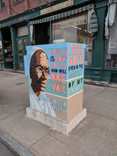 Sojourner Truth Street Utility Box