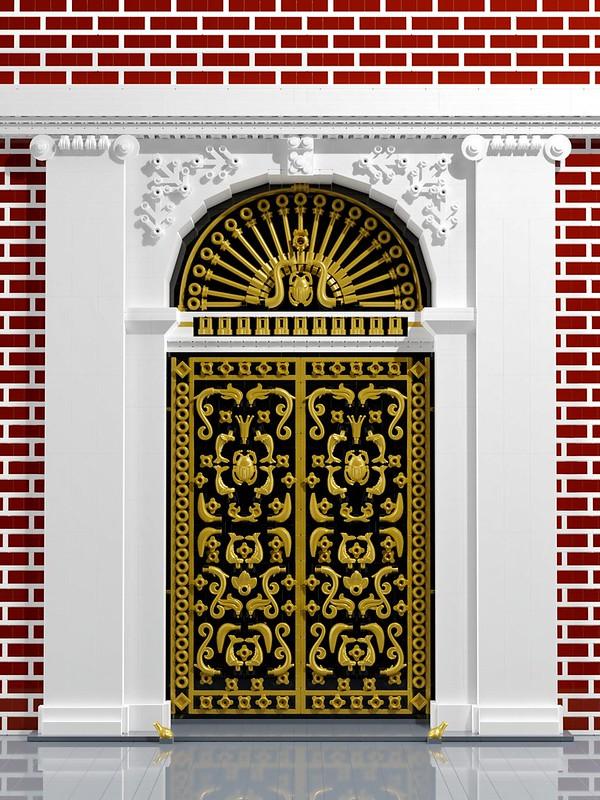 Gilded Doors