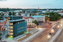 Kaunas architecture | Aerial