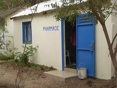 At a pharmicie at Dakar, Senegal