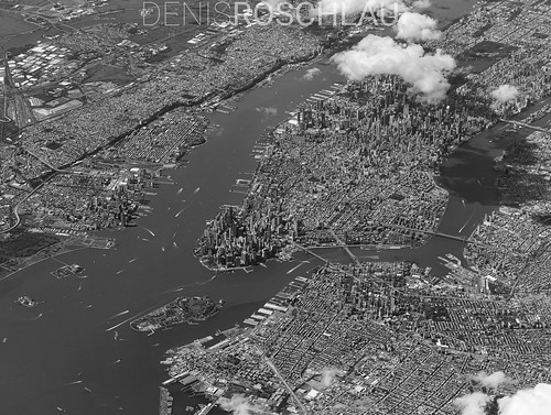 NYC aerial | by Denis Roschlau Photography