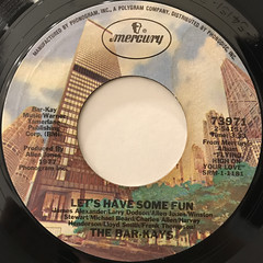 THE BAR-KAYS:LET'S HAVE SOME FUN(LABEL SIDE-A)