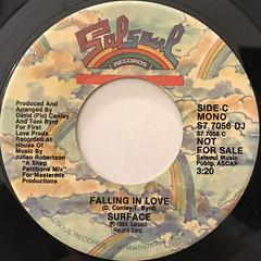 SURFACE:FALLING IN LOVE(LABEL SIDE-B)