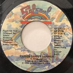 EDWIN BIRDSONG:RAPPER DAPPER SNAPPER(LABEL SIDE-A)