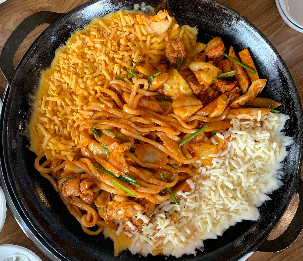 Dak Galbi with Cheese