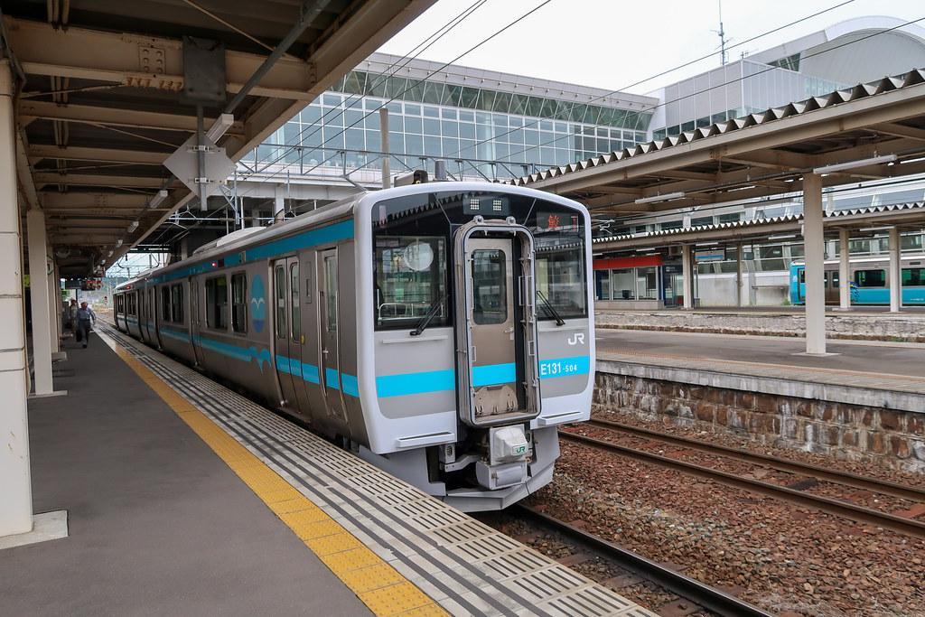 JR八戸線 八戸駅ホーム