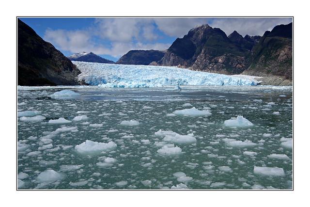 Glacier San Rafael / Patagonie