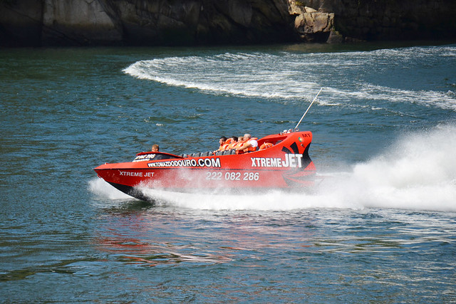 Jet boat, Porto