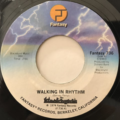 THE BLACKBYRDS:WALKING IN RHYTHM(LABEL SIDE-A)