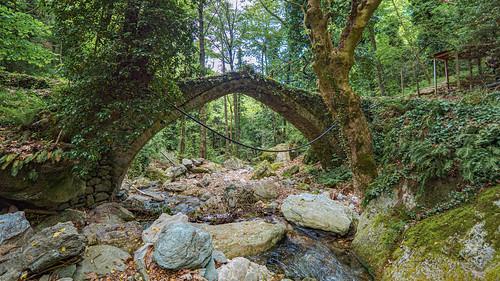 Old Bridge near Tsangarada (Τσαγκαράδα), Pilio (Πήλιο) #1