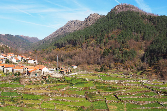 Mountain village, Peneda Geres, Portugal
