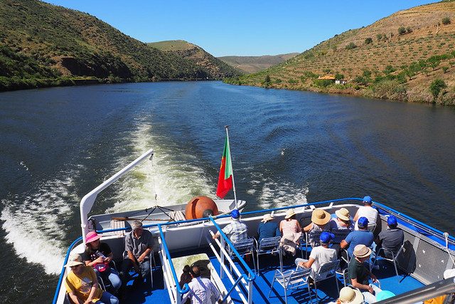 Hot on the Douro, May, Portugal