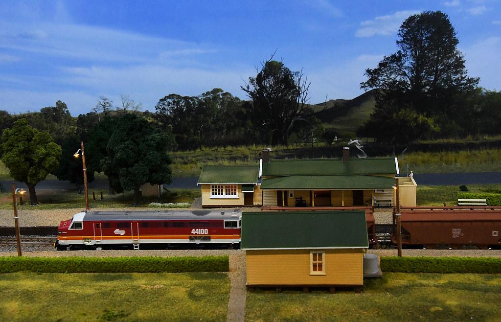 44100, Wingello, Epping Model Railway Exhibition, Rosehill, Sydney, NSW.