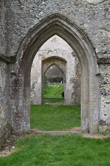 from north porch to south porch