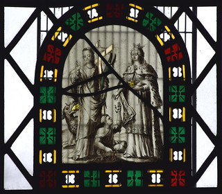 St Margaret and St Elizabeth of Hungary representing Faith and Charity (Continental, 17th Century)