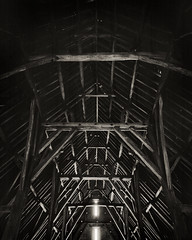 Great Coxwell Barn Roof 8x10 FP4+