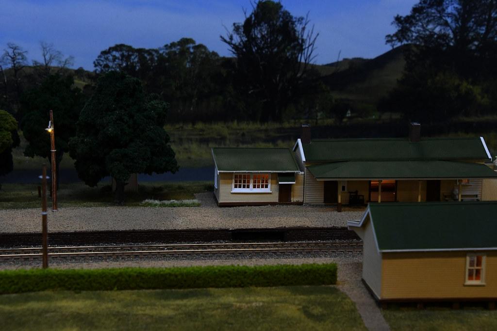 Wingello Layout, Epping Model Railway Exhibition, Rosehill, Sydney, NSW.