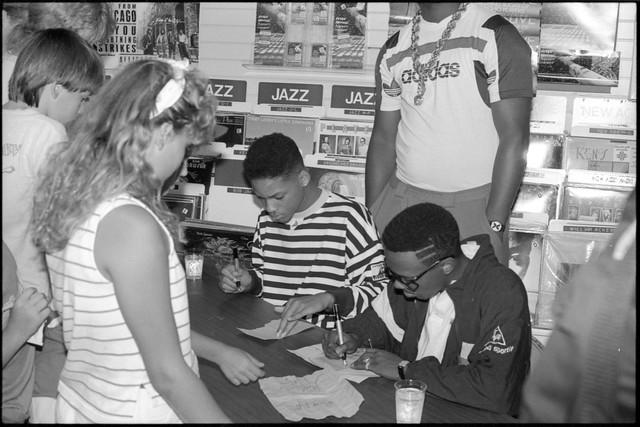 DJ Jazzy Jeff and The Fresh Prince, NRM Records, Louisville, KY - July 30, 1988 - 39
