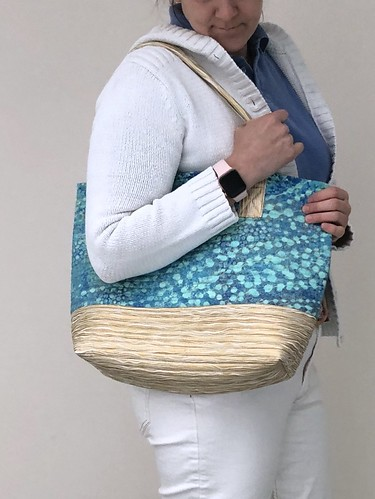Beautiful quilted bag by House of Nanoo of West Cork, Ireland. Made in Ireland. I write about my bag on evinok.com