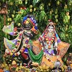 Hare Krishna Temple Ahmedabad Deity Darshan 16 June 2019