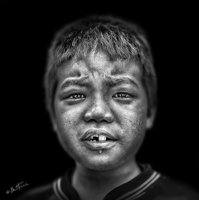 Thai Boy - Ben Heine Photography