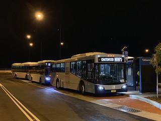 Transdev 6815 at Tallawong