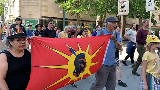 Unist'ot'en Solidarity Rally Against Industry Giants