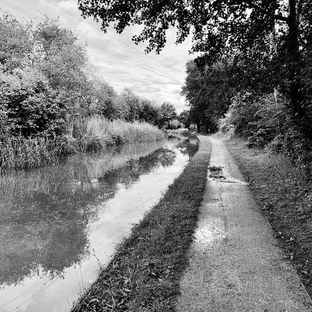 Canal-side walk
