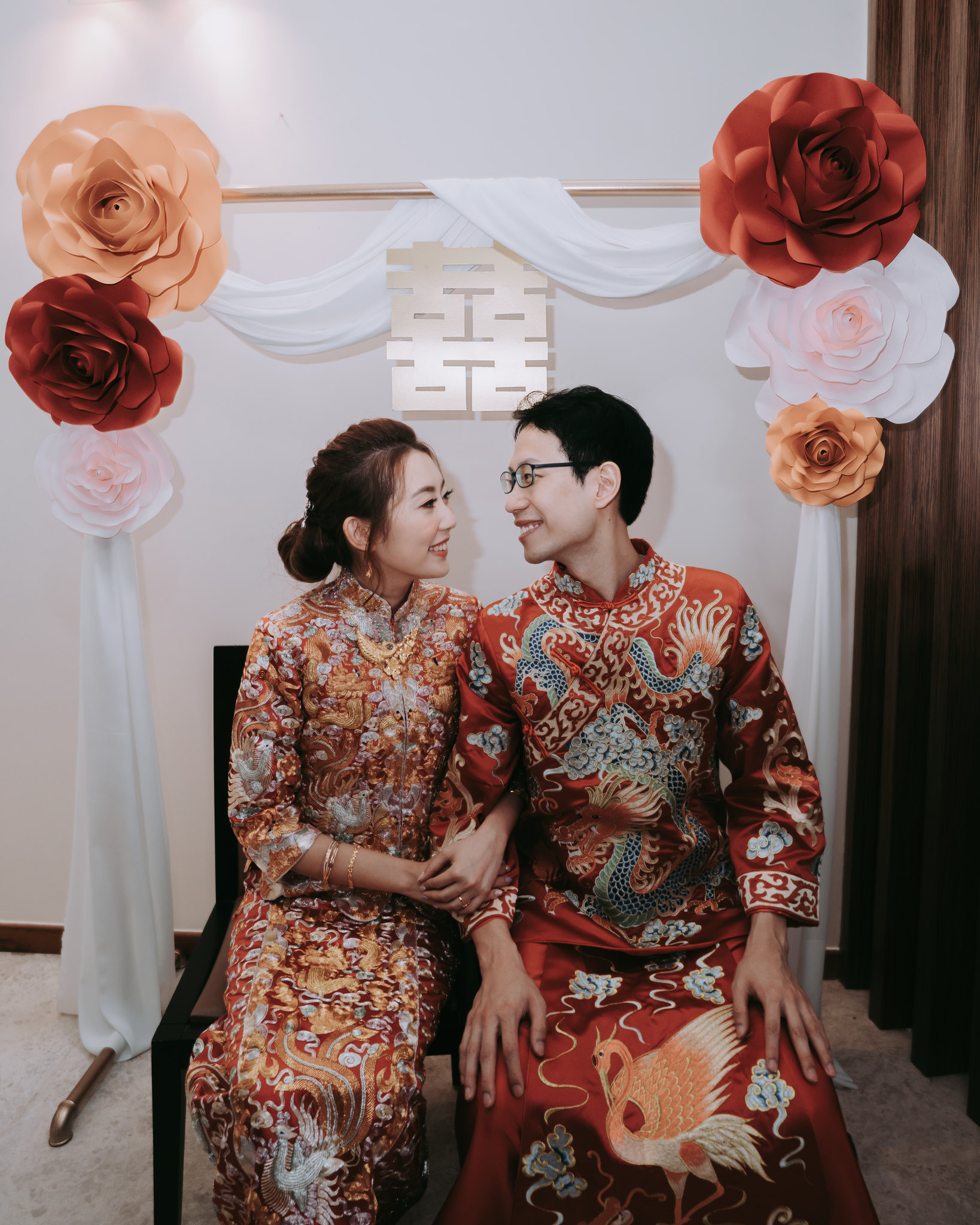 The Red Wedding.Sgstylecouple X The Red Wedding Jacelyn Phang
