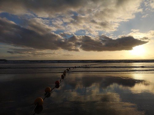 rossnowlaghbeach beach sunset ireland