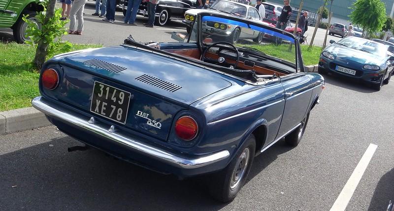 FIAT 850 Spider Vignale  1967 - Rambouillet Juin 2019 48073241802_7a8ac25f90_c