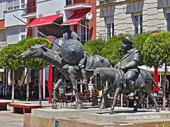 Alcázar de San Juan (Ciudad Real) 12 Don Quijote y Sancho Panza