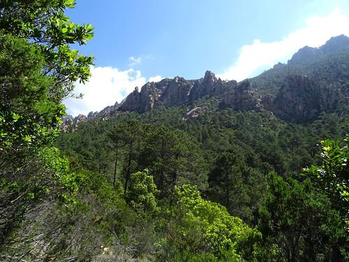 Soubassements du Monte Sordu