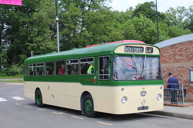 Sunderland Corporation Transport 48 / WBR 248