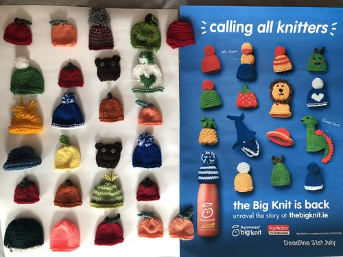 Innocent Smoothie's The Big Knit. Tiny hats for a big cause. Read about our Cork city event at evinok.com