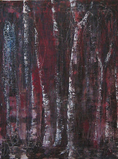 'Forest of Dark Thoughts'oil | by J L Norberg