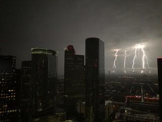 Houston Downtown Lightning 5x