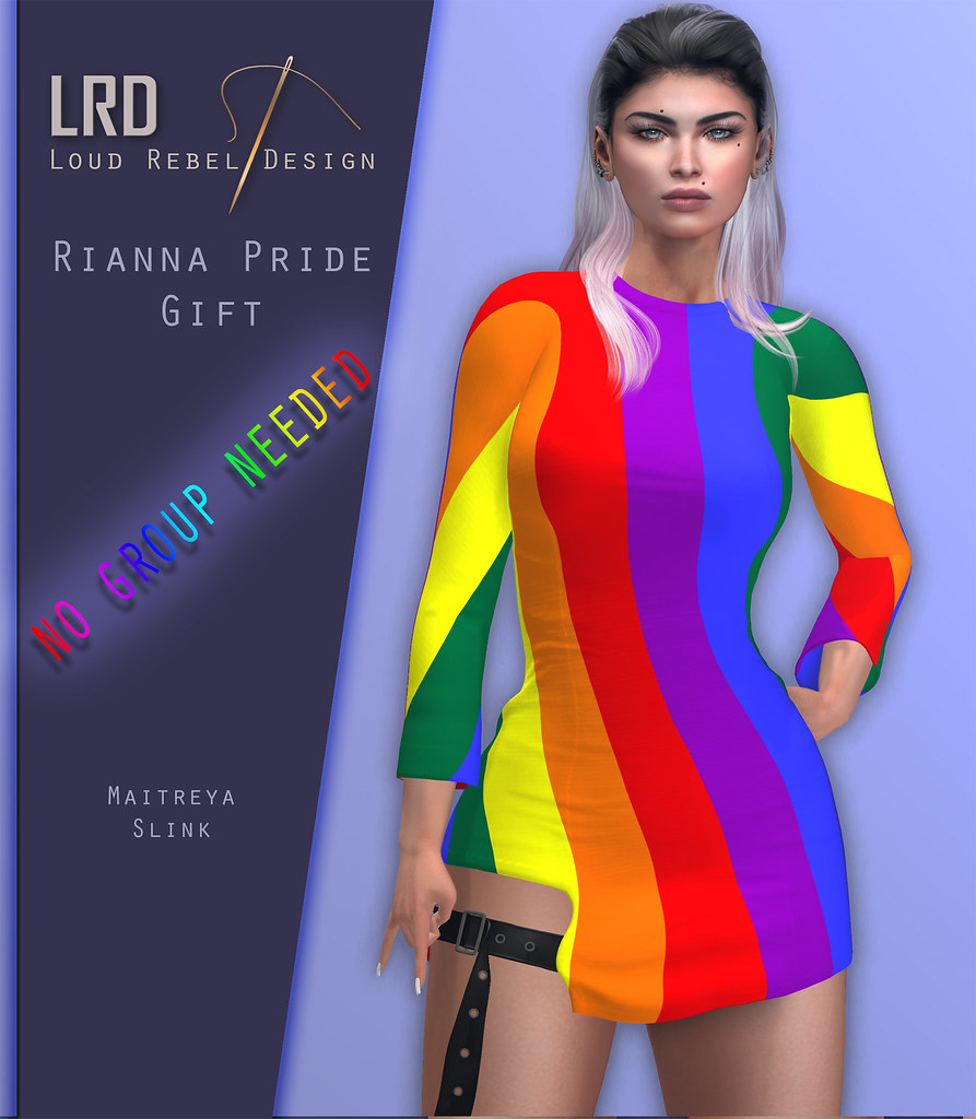 LRD Rianna pride dress