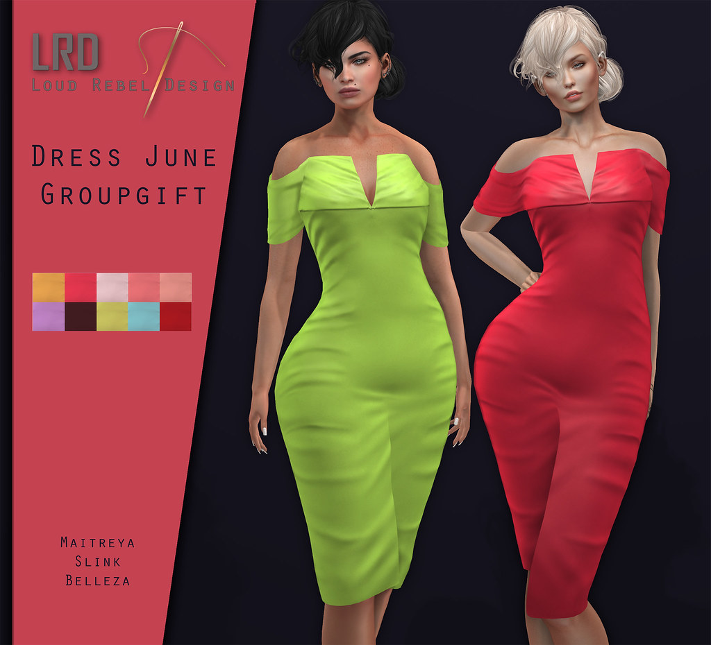LRD Groupgift dress June