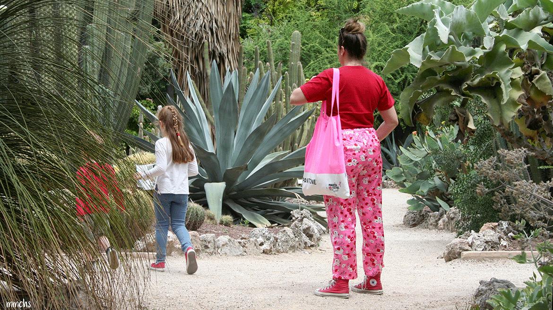 jardín botánico Valencia en familia