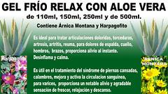 Aliviar dolencias con el Gel Frío Relax de Aloe vera