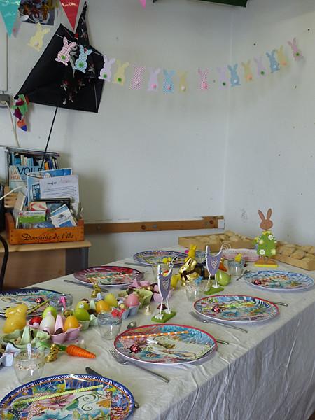 table de Pâques 2