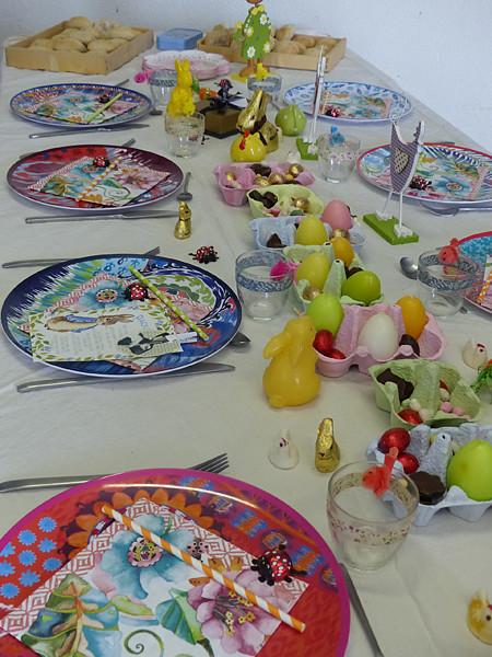 table de Pâques 1