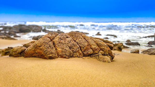 Turtle Rock, Vizag beach, India