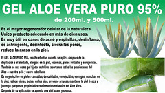 Gel Aloe Vera Puro 95%  muy efectivo