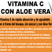 Vitamina C con Aloe Vera