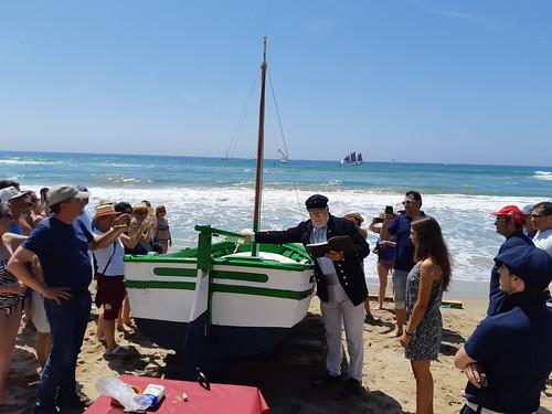 Bateig de la barca Carpero