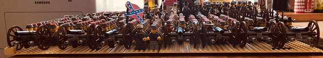 Confederate lego soldiers