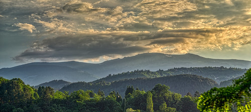 nikon d810 nikond810 irix 150mm irix150mm macro landscape panorama bulgaria mountain clouds trees pancharevo colors